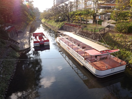 城址公園遊覧船
