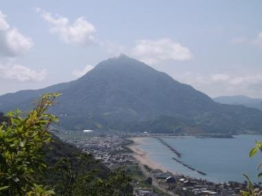 愛宕社から見た青葉山033