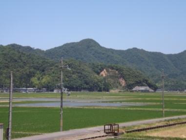 天ヶ城遠望(南東から)002