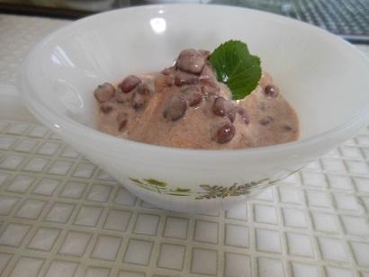 小豆アイス