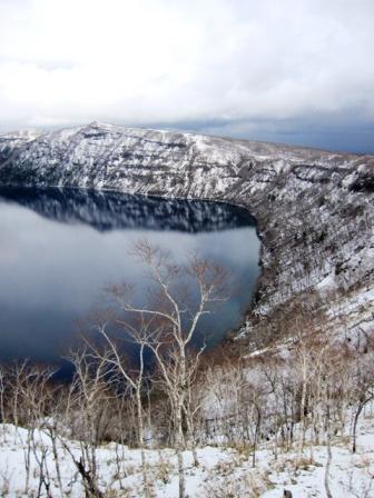 「霧の摩周湖」は見たことありません