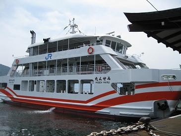 2013広島旅行:JR西日本宮島フェリー