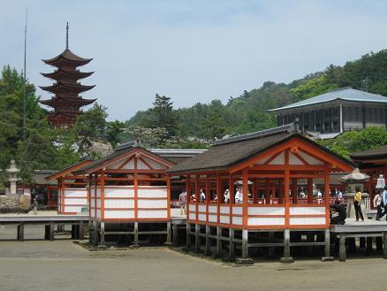 2013広島旅行:厳島神社