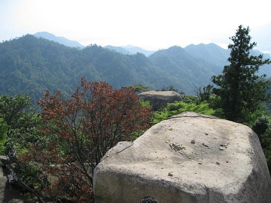 2013広島旅行:宮島 弥山頂上③