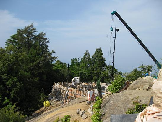 2013広島旅行:宮島 弥山頂上