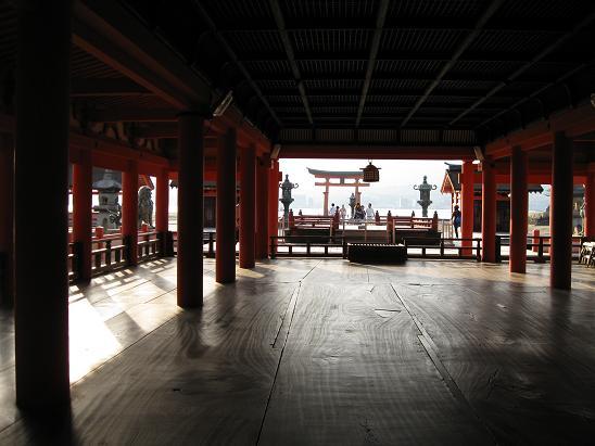 2013広島旅行:厳島神社 内部④