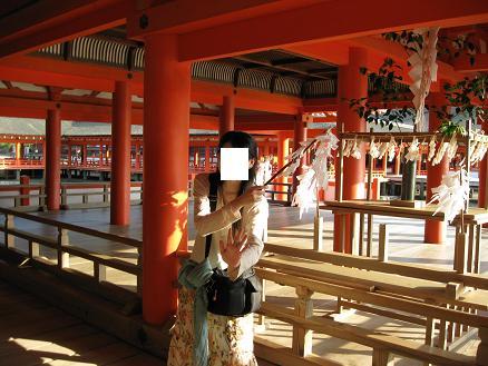 2013広島旅行:厳島神社 内部