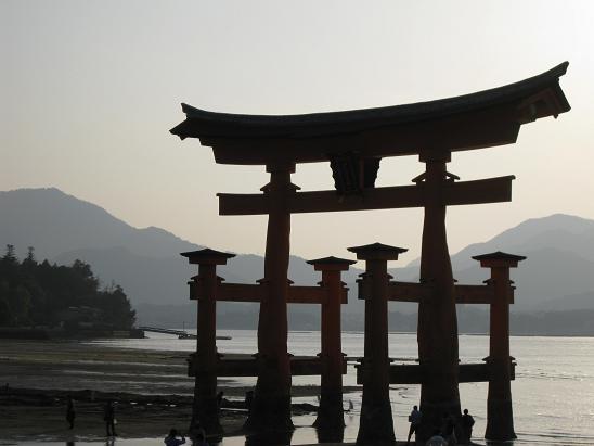 2013広島旅行:宮島 大鳥居⑦