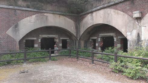 2013広島旅行 うさぎ島 北部砲台跡