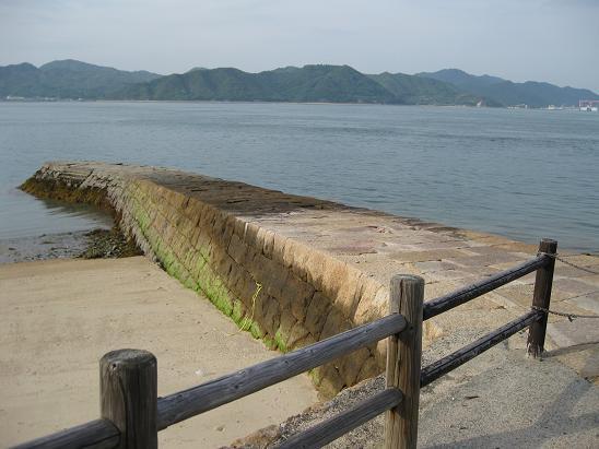 2013広島旅行 うさぎ島 旧桟橋