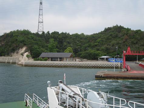 2013広島旅行:うさぎ島 フェリー②