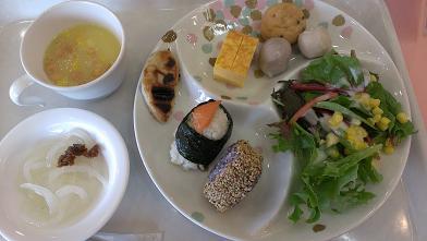 2013広島旅行 休暇村 大久野島 朝食