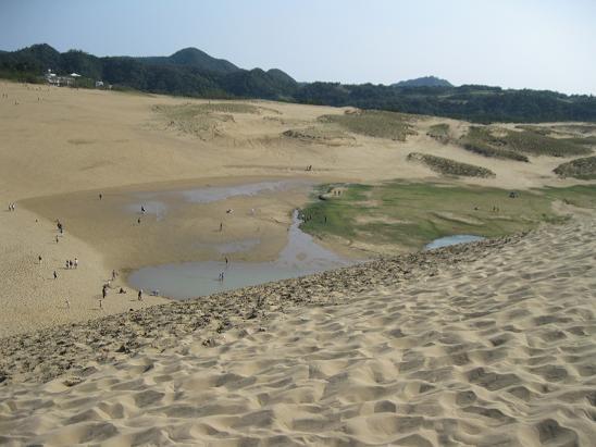 鳥取旅行;鳥取砂丘 オアシス2