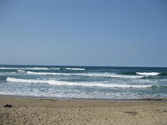 鳥取旅行;鳥取砂丘 日本海
