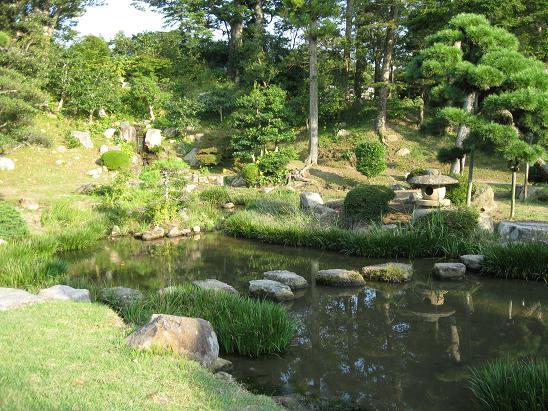 鳥取旅行:鳥取城跡 仁風閣 宝隆院庭園