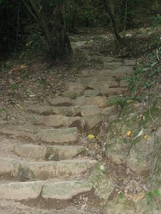鳥取旅行:鳥取城跡 山登り2