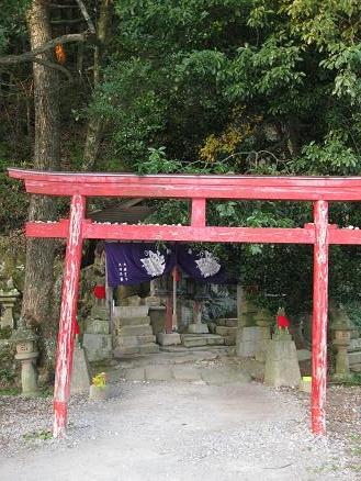 鳥取旅行:鳥取城跡 稲荷神社