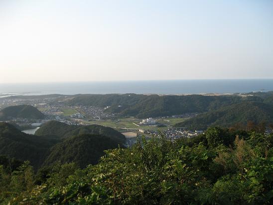 鳥取旅行:鳥取城跡 山上ノ丸 鳥取砂丘