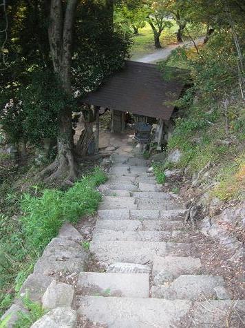 鳥取旅行:鳥取城跡 山登り3