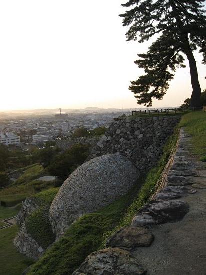 鳥取旅行:鳥取城跡 天球丸の巻石垣2