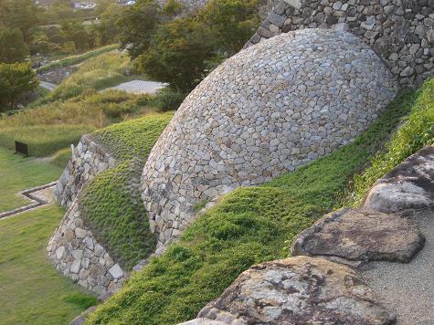 鳥取旅行:鳥取城跡 天球丸の巻石垣3