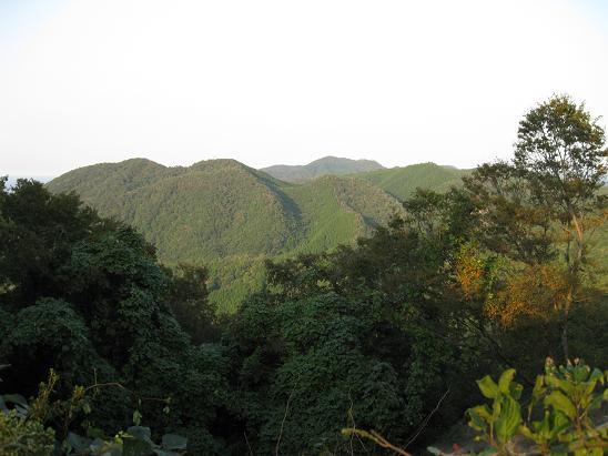 鳥取旅行:鳥取城跡 本陣山2