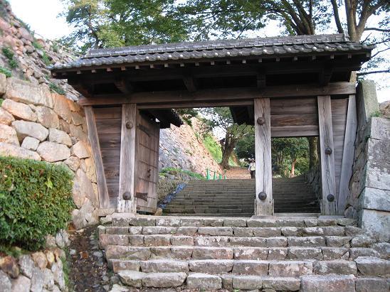 鳥取旅行:鳥取城跡二の丸跡3
