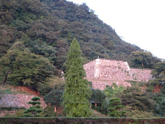 鳥取旅行:鳥取城跡二の丸跡4