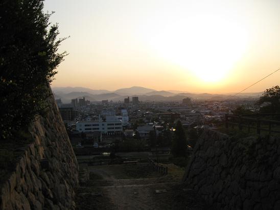 鳥取旅行:鳥取城跡二の丸跡