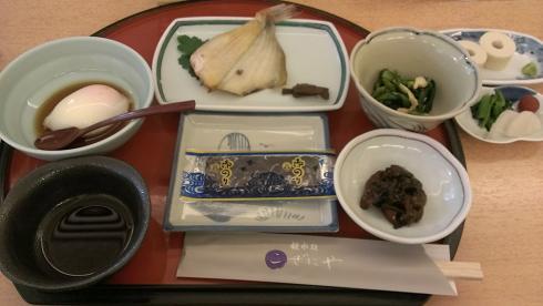 鳥取旅行:こぜにや 朝食