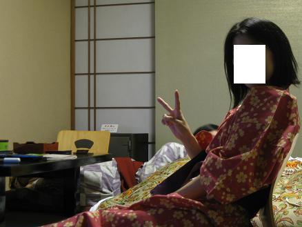 鳥取旅行:こぜにや 浴衣