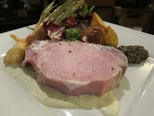 黒豚ロース肉の低温ロースト