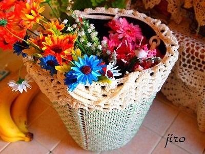 ポットドレス-花かご2