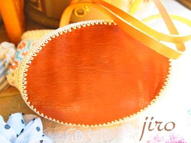 ビーズ編みバッグ-フォークロア革ひもショルダー (4)