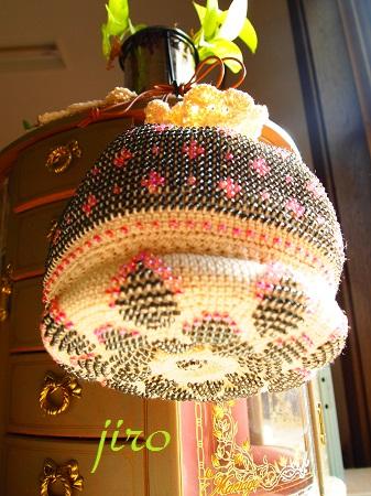 ビーズ編みバッグ-asきんちゃく