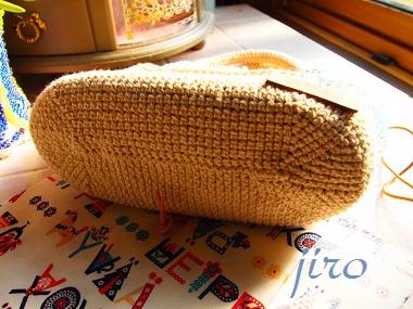 ビーズ編みバッグ- lunch bag (4)