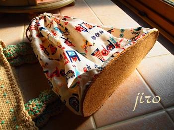 ビーズ編みバッグ- lunch bag (9)