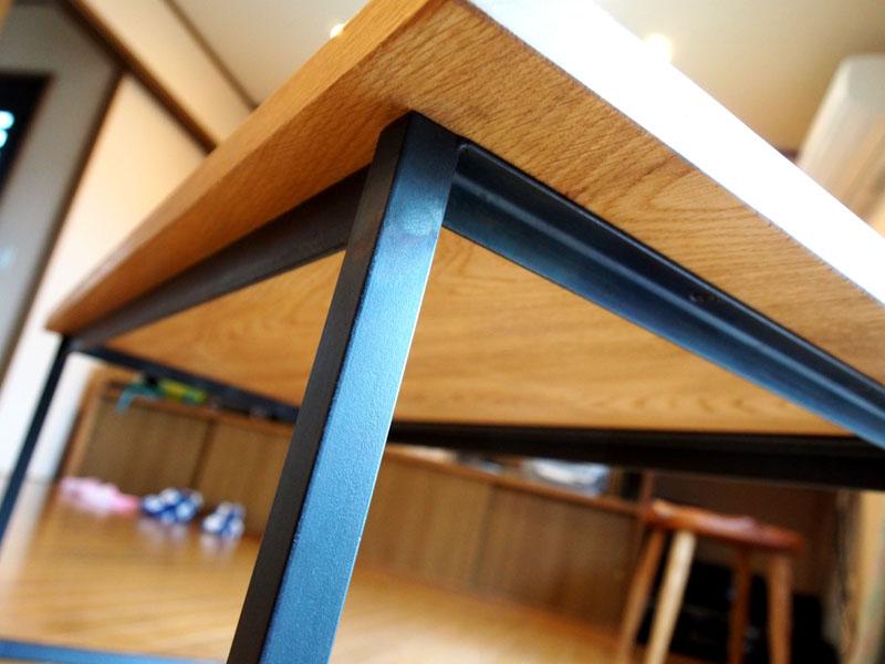 じざい工房 小林康文の鉄脚テーブル