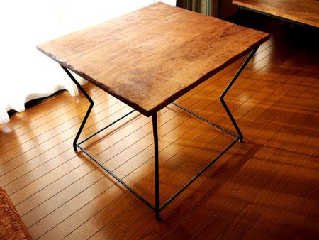 小林康文の鉄脚テーブル