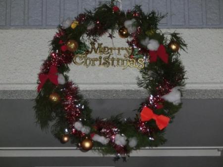 クリスマスリース☆