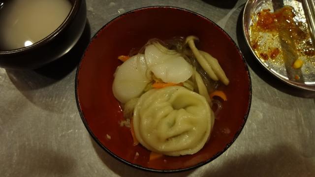 マンドゥ鍋の具