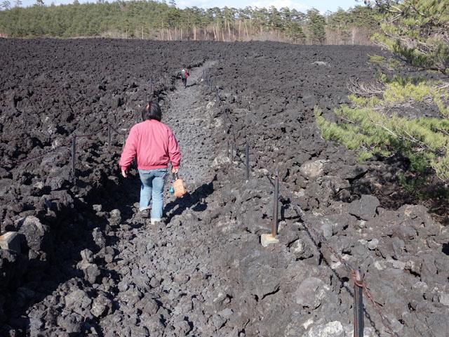 焼走り溶岩流