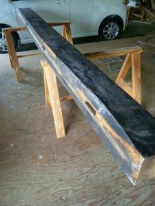 欅の大黒柱