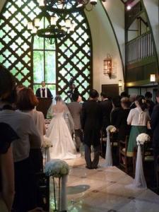 チャペル結婚式