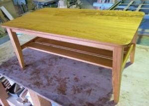 欅テーブル(完成)