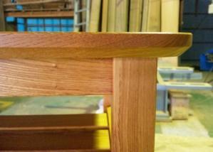 欅テーブル(横)