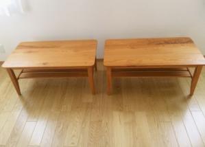 欅テーブル(納品)