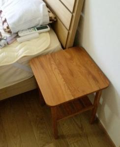 欅のナイトテーブル(納品2)