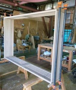 飾り棚の製作