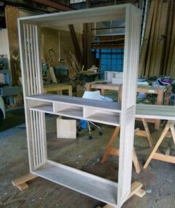 飾り棚の製作2